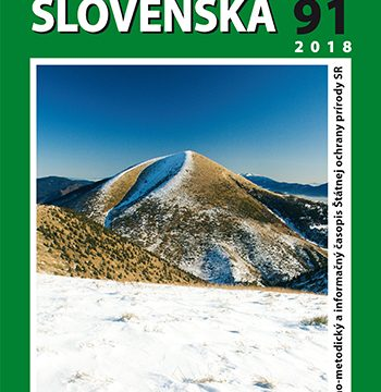 Obálka časopisu Chránené územia Slovenska 91