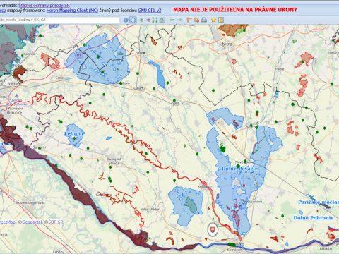 Územná ochrana CHKO Dunajské luhy, pracovisko Dunajská Streda a pracovisko Bratislava