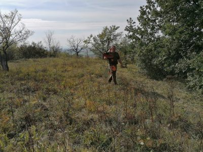 Menežmentová brigáda stráže prírody, Prírodná rezervácia Drieňová hora, 2.10.2020, foto: Svätopluk Čepelák